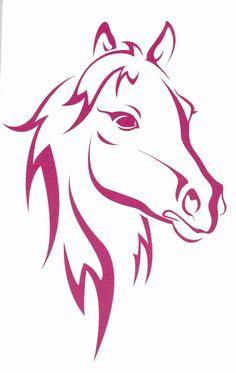 Tribal Horse Tattoos for Women | uploaded to pinterest