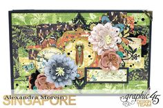Nature Sketchbook Box&Notebook&ATC, Tutorial by Alexandra Morein, Product by Graphic 45, Photo 13
