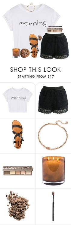 """""""Just celebrated my lil bros birthday!!"""" by lindonhaley ❤ liked on Polyvore featuring WithChic, Chicwish, Forever 21, Kendra Scott, Urban Decay, Laura Mercier, Dolce&Gabbana and Sigma"""