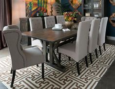 Modern Interior Design | HELLO METRO: The Belmont Linen Dining Chair | I.O. Metro