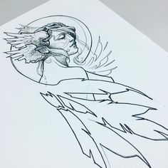 "447 Likes, 6 Comments - vall (@jvallart) on Instagram: ""tomorrow's #valkyrie ... hopefully.  #jvallartink #dontsuckatlife #amoebadesigns…"""