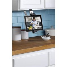 Belkin Kitchen Cabinet Mount - great for in the kitchen, but could also be handy in a science lab to keep your devices safely out of the way of budding scientists.