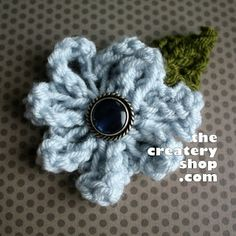 Flower to Knit -The Createry Shop: All Free Knitting Patterns