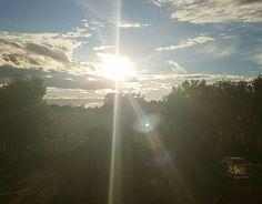 Sunset in Verner ON