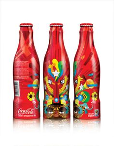 World Cup 2010 - Brazil special edition Coke bottles
