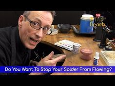 How To Stop Your Solder From Flowing And Messing Up Your Jewellery - YouTube