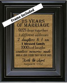 1000+ ideas about Wedding Anniversary Gifts on Pinterest 7th Wedding ...