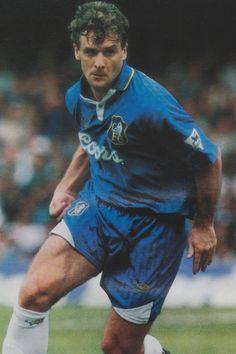 Mark Hughes of Chelsea in Chelsea Football Team, Welsh Football, Cardio Machines, Raquel Welch, Health Club, Chelsea Fc, Love Affair, Fifa, Blues
