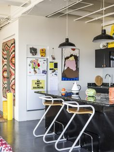 Inside the studio of Everybody, a new line of unisex, seasonless basics from Iris Alonzo and Carolina Crespo, former creative leads at American Apparel.