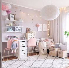 flamingo bedroom ideas girl rooms #GirlsBedroom