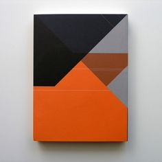 Maybe decorate a sketchbook with a geometric design like this. Web Design, Book Design, Design Art, Print Design, Graphic Design Typography, Graphic Design Illustration, Graphic Art, Branding, Portfolio