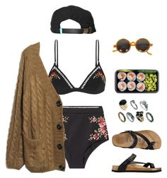 """""""summer"""" by aliennbby on Polyvore featuring Zimmermann, King Apparel and ASOS"""