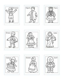 historically children around the world have worn many different types of clothing these detailed coloring pages will give your child a glimpse into the