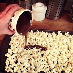 Chocolate Covered Popcorn : Alyssa Campanella