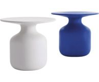 Bottle Dining Table (2007) by Barber & Osgerby for Italian design brand Cappellini. Available in white marble or black Marquinia. Winner of the Wallpaper Design Awards for the best table in 2007.
