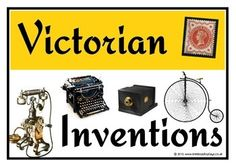 Victorian Inventions - Treetop Displays - Printable EYFS, classroom displays & primary teaching resources Ks2 Classroom, History Classroom, Teaching History, Classroom Displays, Victorian Facts, Victorian History, Victorian Era, Victorian Artwork, Victorian Ladies