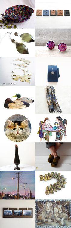 Monday Sundries by Julia on Etsy-- #Etsy #treasury #Fibernique #Autumn #gift #basket #boal #trendy #Fall #gifts  Pinned with TreasuryPin.com