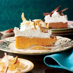 Dazzling Thanksgiving Pie: Coconut-Pumpkin Chiffon Pie