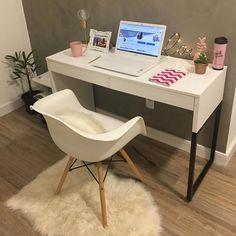 Home Office Design, Home Office Decor, Home Interior Design, Home Decor, Small Room Bedroom, Room Decor Bedroom, Diy Room Decor, Dream Rooms, Dream Bedroom