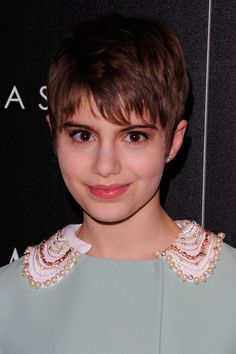 Sami Gayle   Giorgio Armani U0026 The Cinema Society Host A Screening Of  Intruders  Arrivals