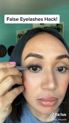 Applying False Eyelashes, Falsies, Beauty Routines, It Works, How To Apply, Hacks, Girls, Closet, Applying False Lashes