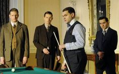 Arnold Rothstein meets with the D'Alessio brothers and Mickey Doyle -A few posts ago, we were talking about the real people the D'Alessio brothers in Boardwalk Empire are loosely based on, and Mickey Duffy, the real person Mickey Doyle is based on. After looking up a thing or two, here's what we've learned: