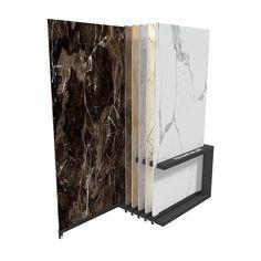 Showroom Porcelain and Ceramic Tile Display Stand Showroom Interior Design, Tile Showroom, Showroom Ideas, Stone Slab, Stone Tiles, Bathroom Spa, Quartz Stone, Display Boxes, Wooden Flooring