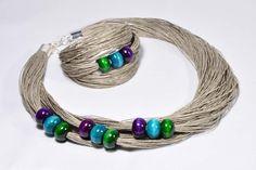 Beaded Jewelry, Handmade Jewelry, Jewellery, Jute Crafts, Pressed Flower Art, Unique Necklaces, Chokers, Bracelets, Fabric
