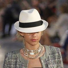 coco chanel panama hat - Hľadať Googlom 8ba2a9331ea