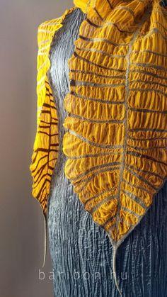 scarves – Baribon Nuno Felt Scarf, Wool Scarf, Wet Felting Projects, Nuno Felting, Yarn Colors, Shawls And Wraps, Unique Fashion, Womens Scarves, Wool Felt