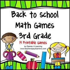 Winter math project project based learning ride shop math back to school math games third grade this collection of back to school math games fandeluxe Gallery