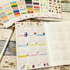 いいね!1,763件、コメント25件 ― kuronekoさん(@kuroneko0711)のInstagramアカウント: 「. ほぼ日のカレンダーのところをKITTAでかわいくして満足した(*´꒳`*)♡ わかりにくいのですが祝日をピンクの色鉛筆で塗ってあります㊗️ . KITTAの使い勝手の良さ。…」
