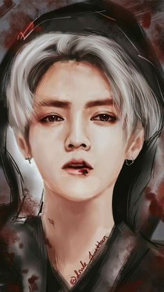 鹿 晗 luhan fan-art luhan exo, exo fan art e exo fan Chibi, Exo Anime, Exo Fan Art, Girly Drawings, Kim Jongdae, Kpop Exo, Bts And Exo, Korean Art, Best Friend Pictures