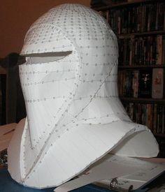Imperial Guard Helmet Skupilkinson's Pepakura
