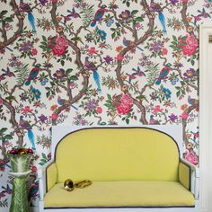 Wallpaper - Cole & Son - Folie - Fontainebleau - Paint & Paper Ltd