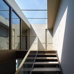 Galeria - Residência no Parque Fitzroy / Stanton Williams - 7 Interior Staircase, Interior Architecture, Patio Interior, Stanton Williams, Living In London, 1950s House, Arched Windows, Design Strategy, Park Homes