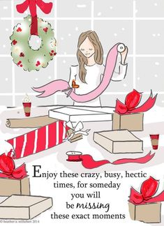 December Enjoy these moments Rose Hill Designs by Heather Stillufsen