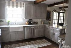 Amazing 30 Stunning DIY Kitchen Makeover Ideas http://toparchitecture.net/2017/11/15/30-stunning-diy-kitchen-makeover-ideas/
