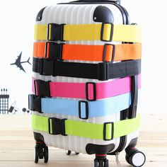 Trolley Suitcase Luggage  strap cross belt packing belt Buckle strap Adjustable  baggage belt  Women Men Travel Bag Accessories-in Bag Parts & Accessories from Luggage & Bags on Aliexpress.com   Alibaba Group