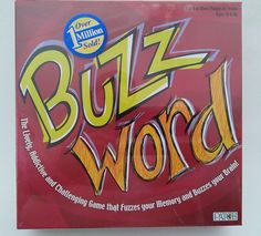 Buzz Word Family Party Guessing Game by Patch Games Game Memory Sealed NIB #PatchProducts
