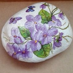 painted violets