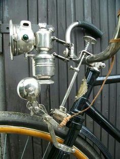 Vintage bicycle lamp