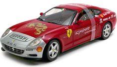 "2004.- FERRARI 612 SCAGLIETTI ""15000 Red Miles China"" (Serie Elite L7127). Hot Wheels L7127"