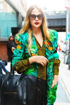 Street Style from New York Fashion Week, Spring 2013