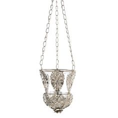 Buy Ornate Hanging Candle Lamp at wholesale prices. We offer a large selection of cheap Wholesale Candle Lamps. If you need Ornate Hanging Candle Lamp in bulk at a discount price then buy from WholesaleMart. Wholesale Candle Holders, Cheap Candle Holders, Candle Lamp, Glass Candle, Hanging Candles, Silver Filigree, Event Decor, Ceiling Lights, Elegant