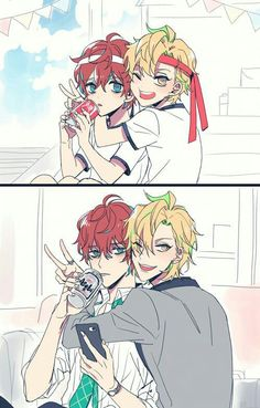 Doppo and Hifumi Anime Boys, Chica Anime Manga, Cute Anime Boy, Manga Boy, Cute Anime Couples, Anime Art, Mc Lb, Ecchi, Rap Battle