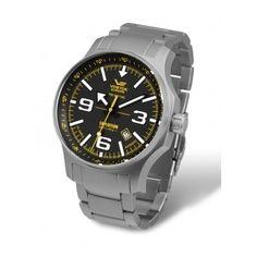 Relojes de Acero VostoK: Reloj con Armis de Acero Mate, un toque diferente que sale de los relojes de acero convencionales, ¡un reloj especial!  http://www.tutunca.es/reloj-armis-de-acero-mate-vostok-expedicion-north-pole-manual