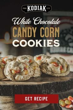 Candy Corn Cookies, Yummy Cookies, White Chocolate Candy, Kodiak Cakes, Halloween Food For Party, Sweet Tooth, Sweet Treats, Cooking Recipes, Sweets