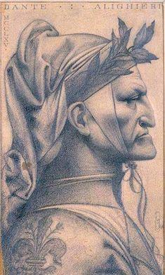 Dante Alighieri, Tolkien, Human Anatomy Art, Dante Gabriel Rossetti, Dantes Inferno, Renaissance Era, Writers And Poets, Historical Pictures, Fine Art