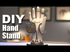 Mad Stuff With Rob | How To Make A Hand Stand | DIY Craft - YouTube